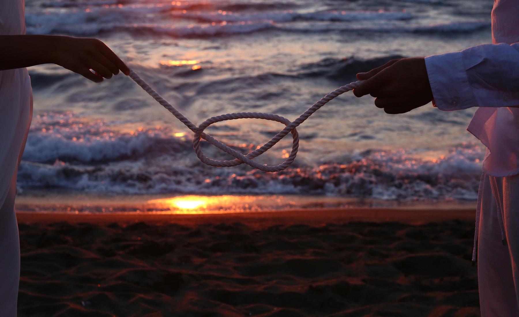 Matrimonio in spiaggia a Procida